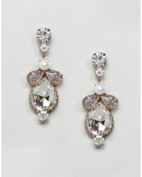 ALDO - Metallic Bergey Gem Chandelier Earrings - Lyst