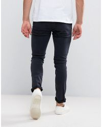 Cheap Monday - Blue Skinny Fit Jeans In Midnight Dye for Men - Lyst