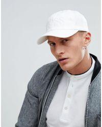 BOSS - Boss Canvas Baseball Cap In White for Men - Lyst
