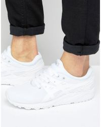 Asics - Gel-kayano Evo Trainers In White H707n 0101 for Men - Lyst