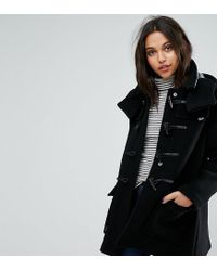 Gloverall - Blue Exclusive Duffle Coat With Detachable Hood - Lyst
