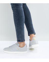 Lyst adidas Originals Originals Gazelle en color gris en gris