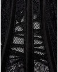 Regal Rose - Halloween Black Lace Oversized Collar - Lyst