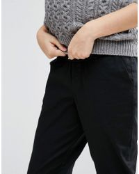 ASOS - Black Basic Chino - Lyst