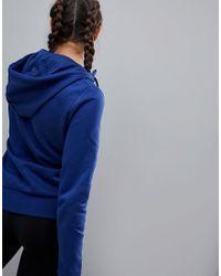 PUMA - Blue Hoodie - Lyst