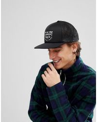 Lyst - Element Rift Trucker Cap In Black in Black for Men 8b40ebbdacfa