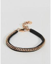 Dyrberg/Kern - Metallic Dyrberg/kern Chain Bracelet - Lyst