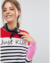 Esprit - White Valentines Just Kiss Jumper - Lyst