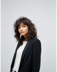 AllSaints | Black All Saints Selma Tux Blazer | Lyst