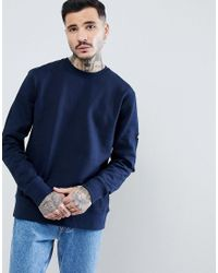 Penfield - Blue Eastbay Logo Crew Neck Sweatshirt In Navy for Men - Lyst