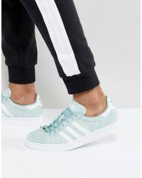 Men's Campus Sneakers In Green Bz0082