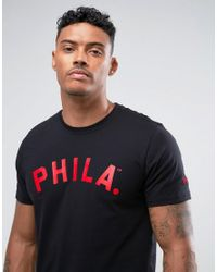 KTZ | Blue Philadelphia Phillies T-shirt With Arch Logo for Men | Lyst
