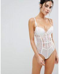 Ann Summers - White Body de novia Paige de - Lyst