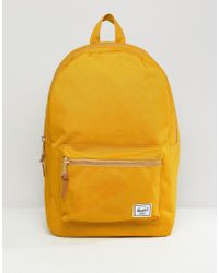 Herschel Supply Co. Settlement Backpack 23l in Yellow for Men - Lyst cafa8f23f18d3