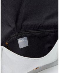 ASOS - Gray Tassel Clutch Bag - Lyst