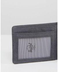 Herschel Supply Co. - Black . Hank Wallet With Rfid for Men - Lyst