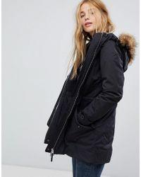 Lee Jeans - Green Urban Parka Jacket - Lyst