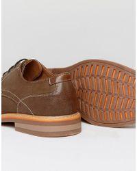 Steve Madden - Brown Oliver Lace Up Shoes for Men - Lyst