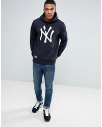 KTZ - Black New York Yankees Hoodie for Men - Lyst