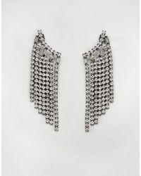 ALDO | Metallic Galusa Fringed Ear Cuffs | Lyst