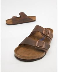 433b4f32d463 Birkenstock Arizona Sandals In Habana Oiled Leather in Brown for Men ...