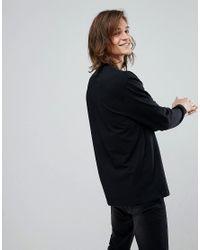 ASOS DESIGN - Black Wapr Leather Belt for Men - Lyst