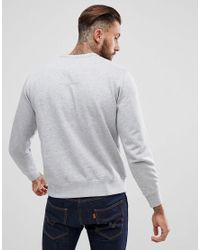 G-Star RAW - Gray Raw Applique Sweatshirt for Men - Lyst