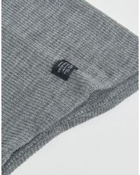 Jack & Jones | Gray Snood Scarf for Men | Lyst