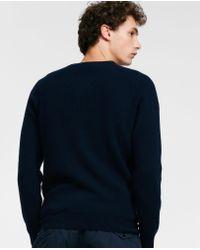 Aspesi - Blue Cashmere Sweater for Men - Lyst