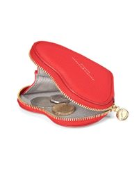 Aspinal Red Heart Coin Purse