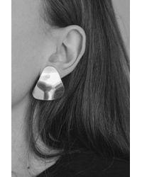 Young Frankk - Multicolor Silver Trine Earrings - Lyst