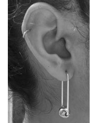 In God We Trust - Metallic Titan Earrings - Lyst