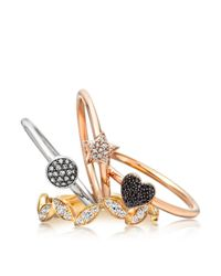 Astley Clarke - Metallic Little Star Ring - Lyst