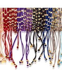 Astley Clarke - Multicolor Garnet Skinny Biography Bracelet - Lyst