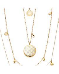 Astley Clarke - Metallic Moonlight Star Mosaic Necklace - Lyst