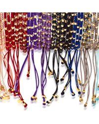 Biography   Purple Amethyst Skinny Bracelet   Lyst