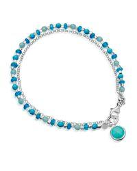 Astley Clarke - Blue Turquoise Biography Bracelet - Lyst