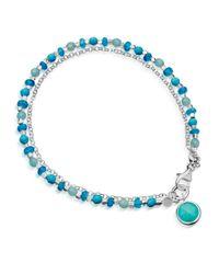 Astley Clarke | Metallic Turquoise Biography Bracelet | Lyst