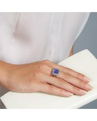 Astley Clarke - Blue Mini Connie Tanzanite Ring - Lyst