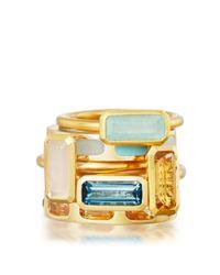 Astley Clarke - London Blue Topaz Prismic Ring - Lyst