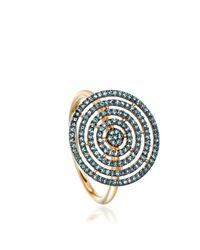 Astley Clarke - Blue Icon Aura Ring - Lyst