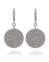Astley Clarke | White Large Icon Earrings | Lyst