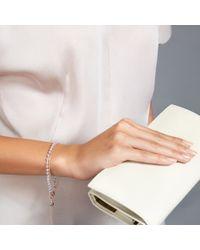 Astley Clarke | Metallic Wishbone Amazonite Friendship Bracelet | Lyst