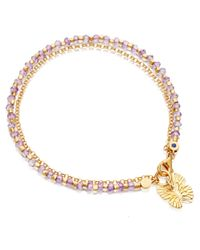 Astley Clarke | Red Labyrinth Friendship Bracelet | Lyst