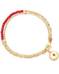 Astley Clarke | Multicolor Sea Bamboo Locket Biography Bracelet | Lyst