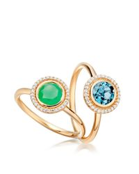 Astley Clarke - Multicolor Chrysoprase Icon Ring - Lyst