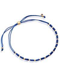 Astley Clarke | Blue Wisdom Skinny Biography Bracelet | Lyst