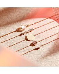 Astley Clarke - Metallic Engravable Disc Bracelet - Lyst