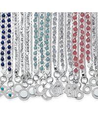 Astley Clarke - Multicolor Amazonite Moon Biography Bracelet - Lyst