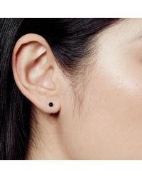 Astley Clarke - Black Onyx Ezra Stud Hoop Earrings - Lyst
